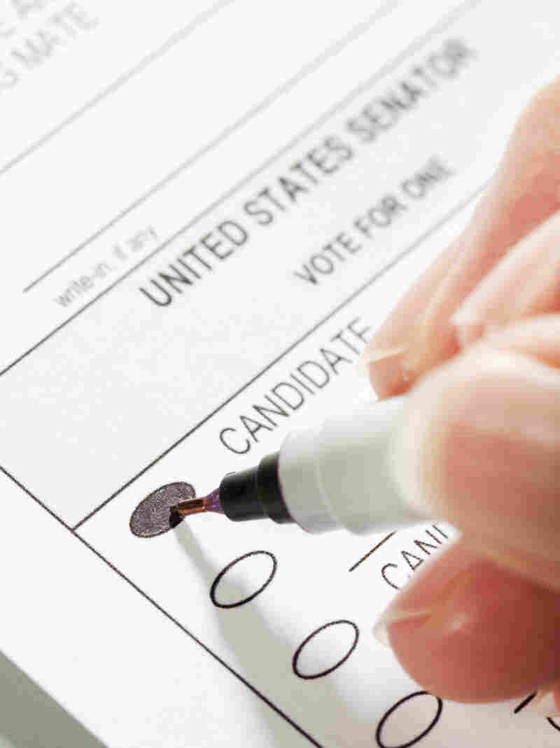 The act of photographing or sharing a filled-in ballot is illegal in 44 states.