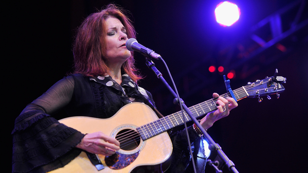 Rosanne Cash made one of Folk Alley's favorite albums of 2014, The River & The Thread. (Getty Images)