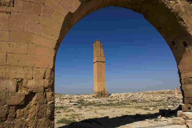 Home of the Mesopotamian moon god Sin. This center of medieval Islamic learning was erased by the invading Mongols. Harran, Turkey.
