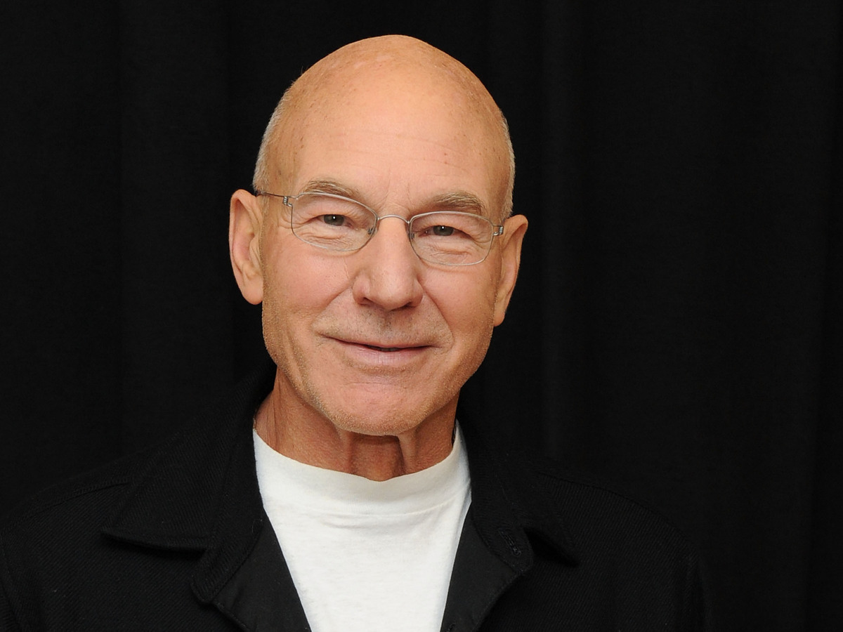 Sir Patrick Stewart, Star Trek's Captain Picard, talks to NPR