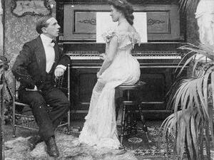 Courtship, ca. 1903