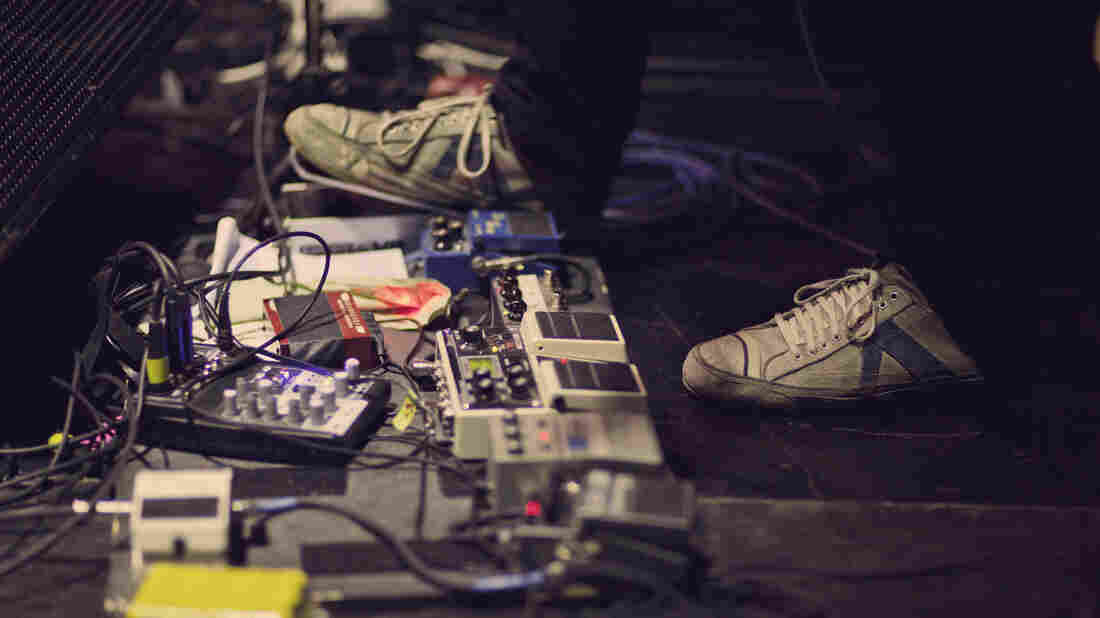 """""""I started thinking about effects pedals as being like a palette with different colors,"""" Wilco guitarist Nels Cline says."""