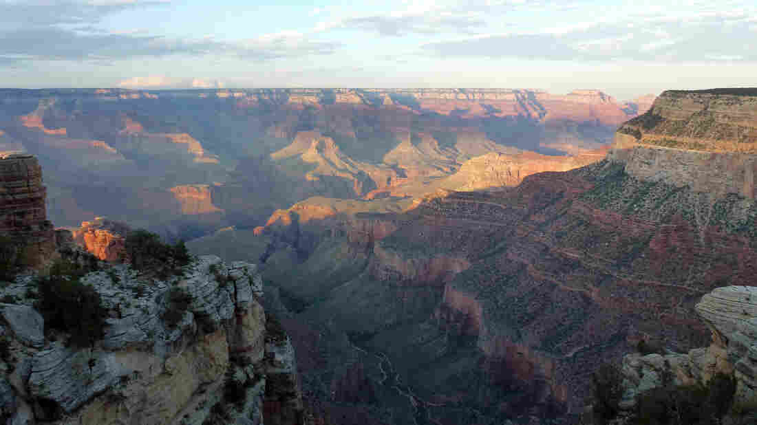 The Grand Canyon is seen from the South Rim on Sept. 6, 2013.