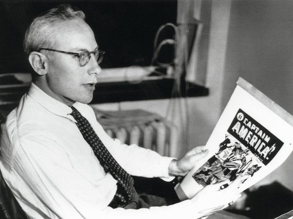 In 1941, superheroes like Captain America were big business for Marvel publisher Martin Goodman. But after the war, as superhero popularity faded, Goodman favored Westerns and romance comics.