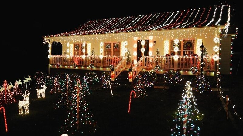 Christmas Light Fight.Watts Going On The Gaudy Excess Of The Great Christmas