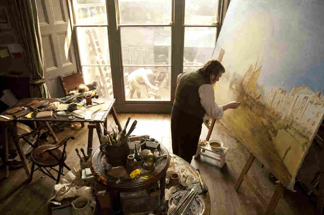 Timothy Spall took fine art lessons on and off for two years so he could correctly portray British painter J.M.W. Turner in Mike Leigh's new film Mr. Turner.