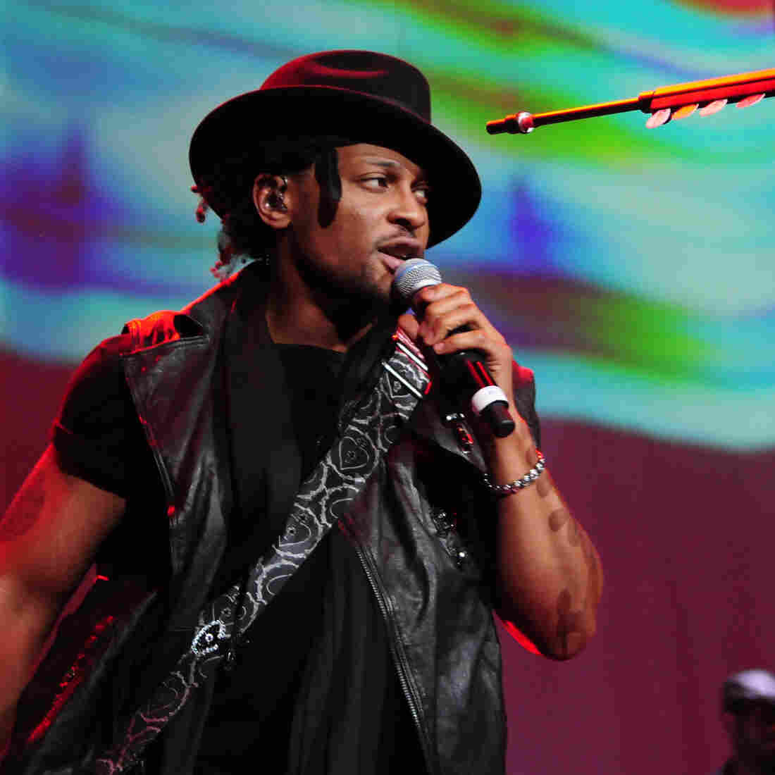 D'Angelo has just released his first album in 15 years, Black Messiah.