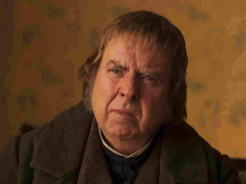 "Timothy Spall says he had to use a lot of empathy to play a character like Mr. Turner, who wasn't always ""very pleasant"" and was a ""man of massive contradictions."""