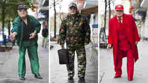 Ali Akdeniz, 85, who always dresses to impress, in some of his various outfits in Berlin. Thanks to photographer Zoe Spawton, he became the star of a blog called What Ali Wore.