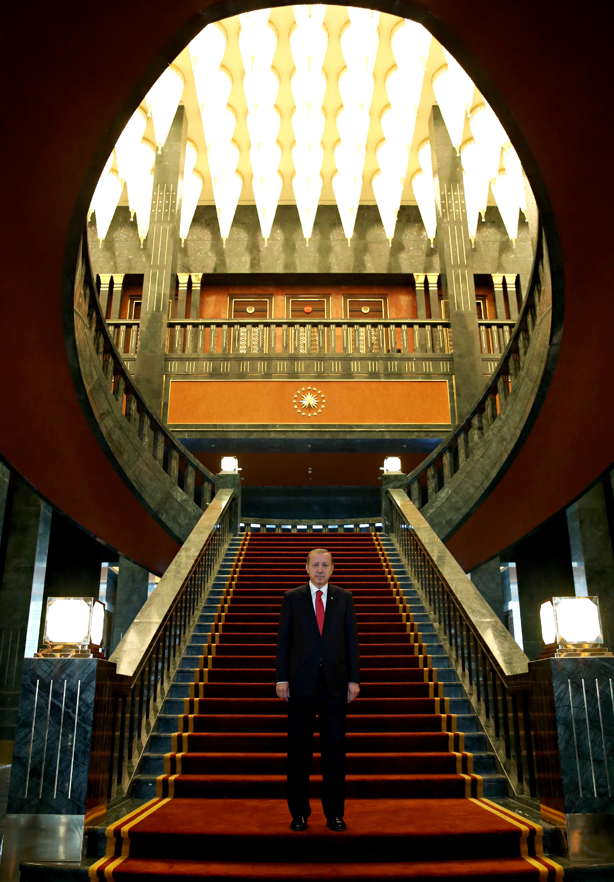 Turkey's President And His 1,100-Room 'White Palace'