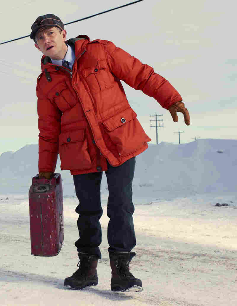 Martin Freeman co-stars in FX's Fargo.