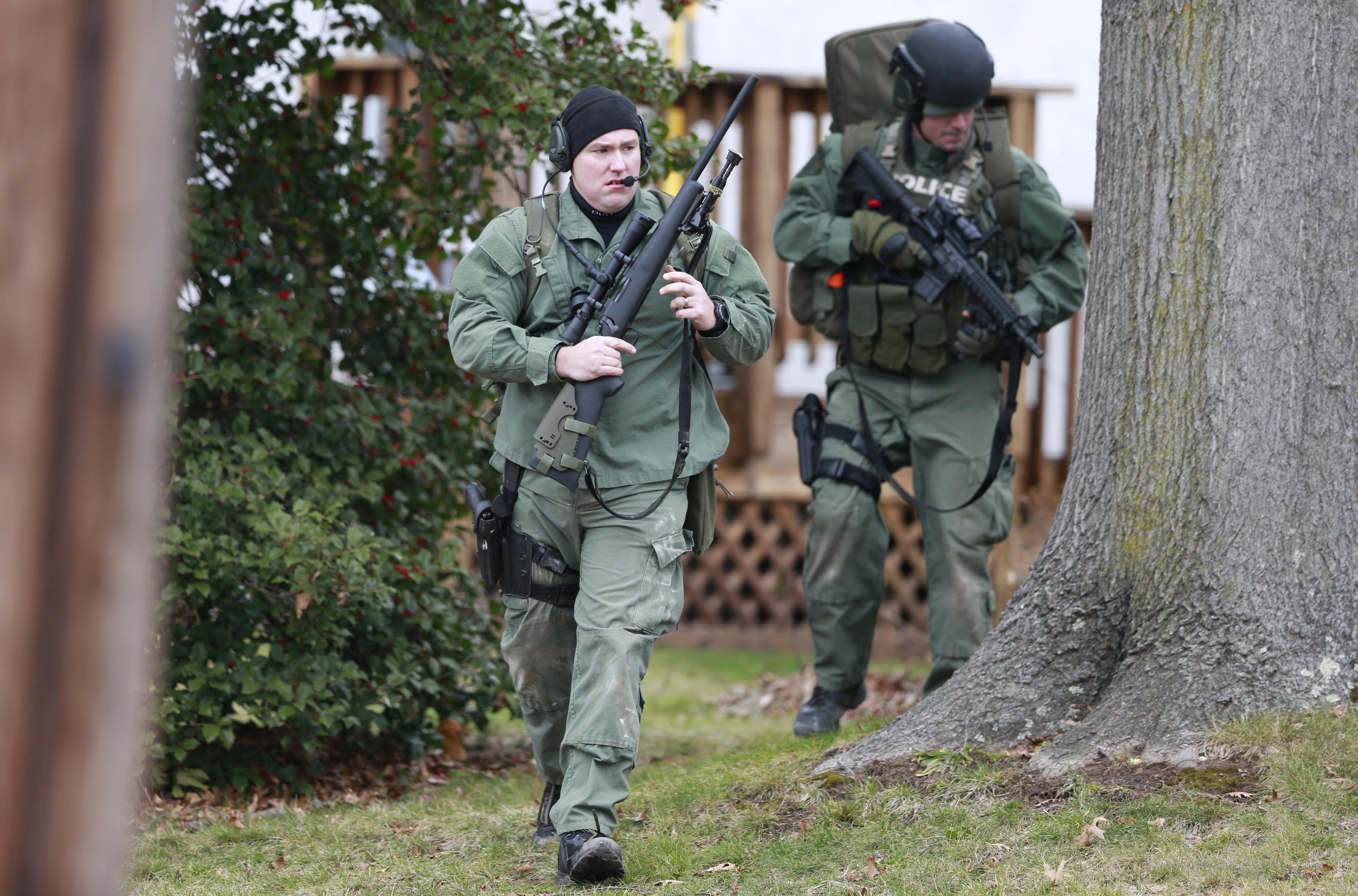Search Is On For Gunman Who Left 6 Dead Near Philadelphia