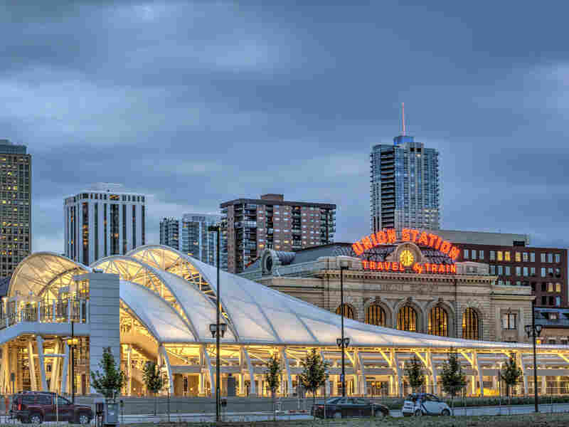 Denver's recently redeveloped Union Station is home to a slew of new restaurants and bars.