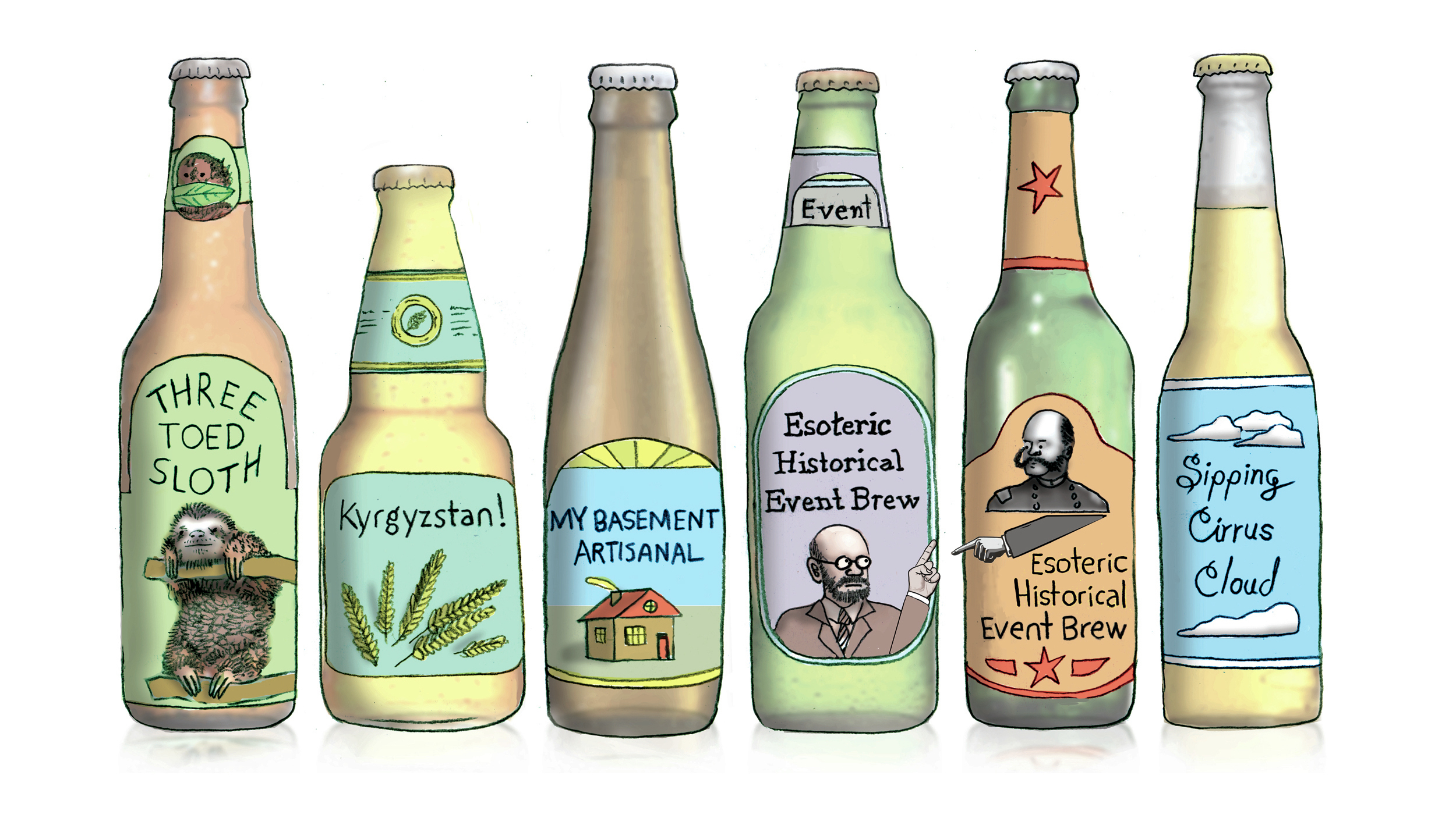 Craft Brewers Are Running Out Of Names, And Into Legal Spats