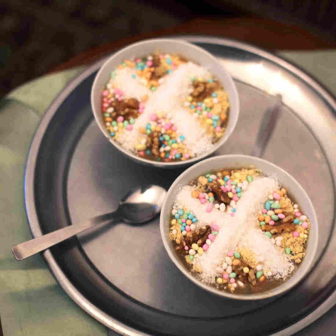 A Holy Land Christmas Porridge Honors A Damsel In Distress