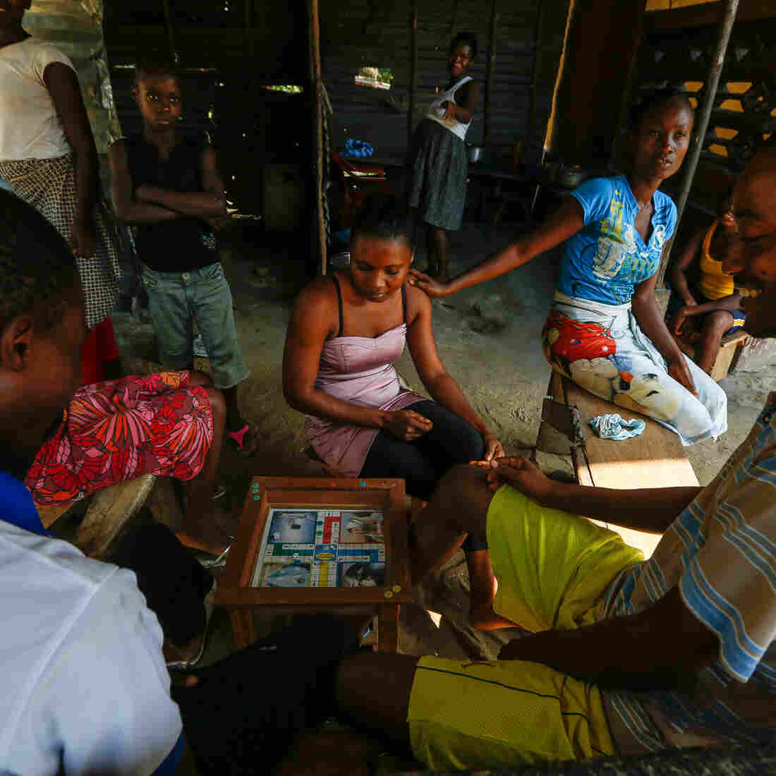 A Game Of Ludo Helps Liberians Catch A Break From Ebola
