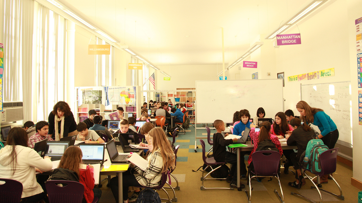 Elementary Classrooms Of The Future ~ Meet the classroom of future npr ed