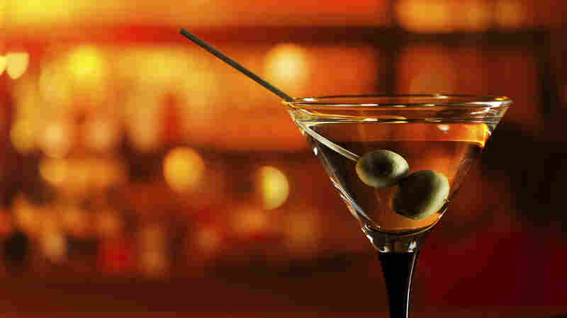 Martini on the bar