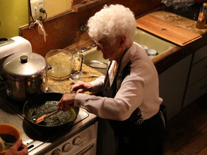 "Aurora Leveroni, 91, is also known as ""Nonna Marijuana."""