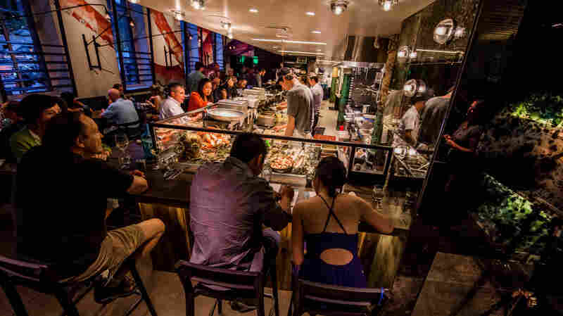 James Beard-award winner and Top Chef Masters star Jen Jasinski recently opened a seafood restaurant in Denver called Stoic and Genuine that features a raw bar.