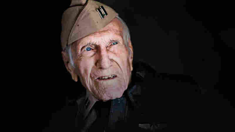 During World War II, Louis Zamperini spent 47 days stranded in shark-infested waters before he was rescued by Japanese soldiers and sent to a prisoner-of-war camp.