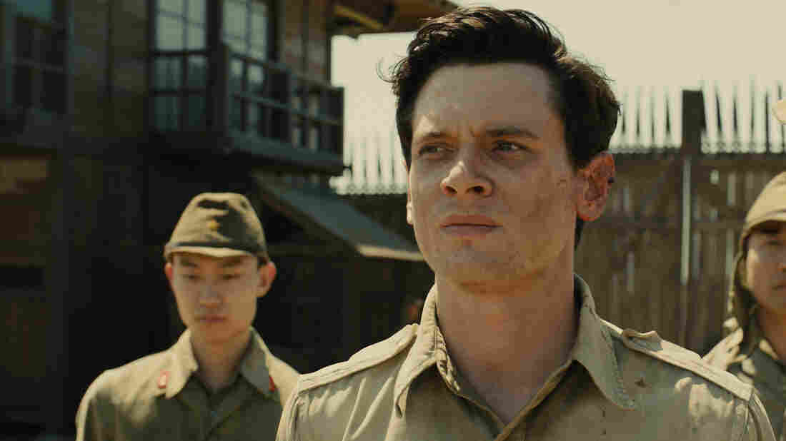 Jack O'Connell plays Louis Zamperini in Angelina Jolie's Unbroken.