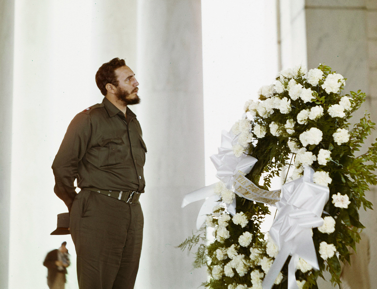 a brief history of fidel castro (consider how a different decision by the admissions office could have impacted  history) castro's 90-minute speech, delivered in broken english, ranged from.