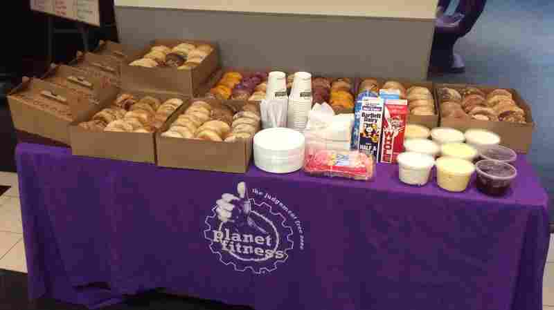 Planet Fitness's bagel breakfast is the second Tuesday of every month.