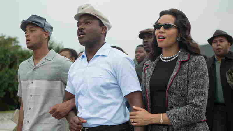 David Oyelowo as Martin Luther King Jr. and Carmen Ejogo as Coretta Scott King in the new movie Selma.