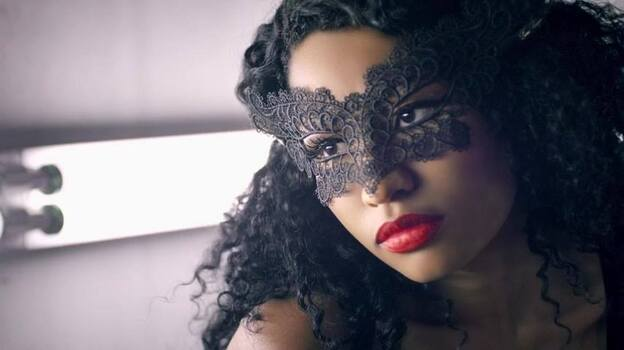 "Nicki Minaj, in a still from her video for ""Only."" (Courtesy of the artist)"