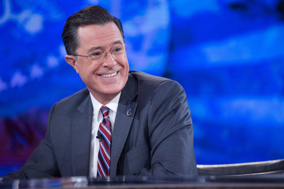 Stephen Colbert will host his final episode of<em> The Colbert Report</em> Thursday after nine years on air. (Pool/Getty Images)