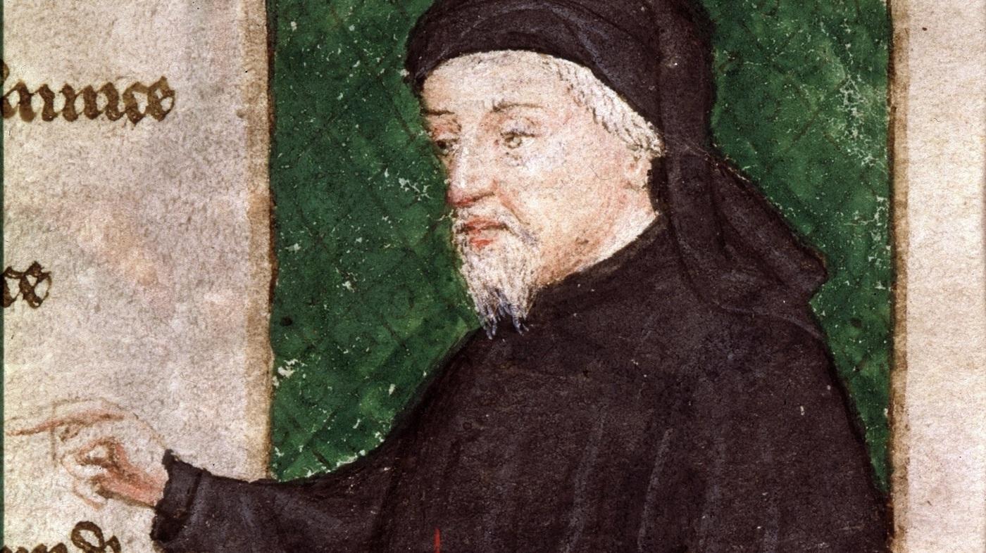 İngiliz şair Chaucer...