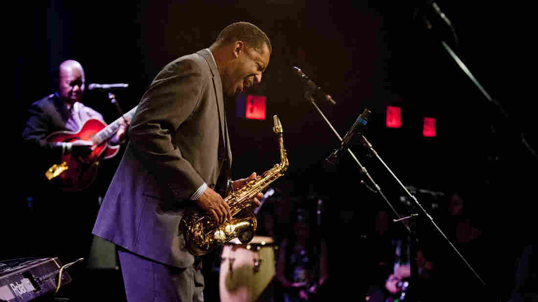 Donald Harrison performs at Winter Jazzfest 2014.