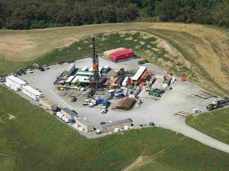 A drilling rig in Butler County, Pa., in 2013. Pennsylvania is now dotted with more than 7,000 active wells.
