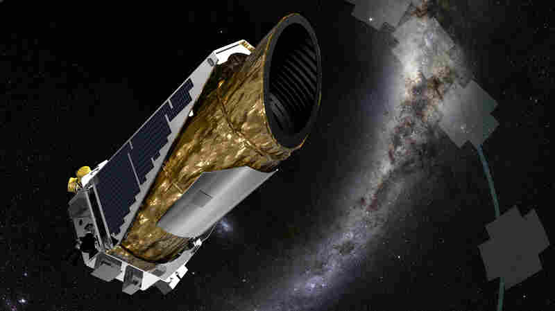 An artist's rendering shows the Kepler spacecraft in its new mission profile, called K2. The space telescope has found a new planet outside our solar system.
