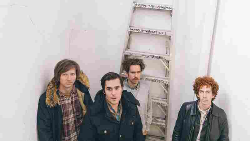 Parquet Courts On World Cafe