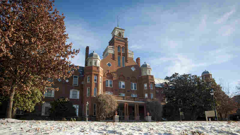 Main Hall on the campus of Randolph College in Lynchburg, Va.