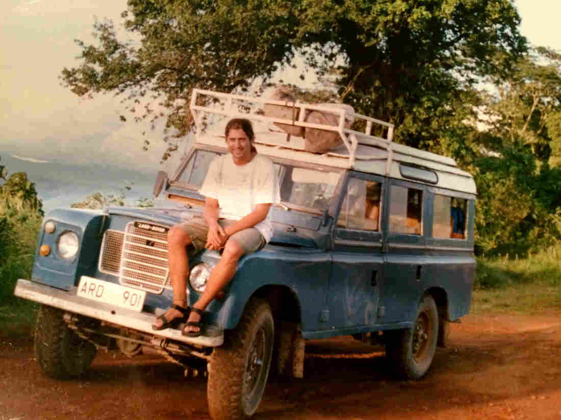 Todd Moss on a 1992 visit to Tanzania.