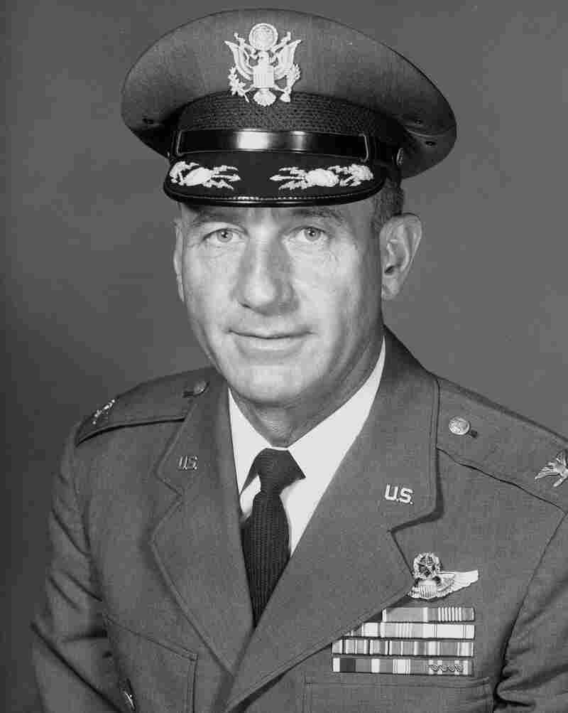"""Col. Harry Shoup came to be known as the """"Santa Colonel."""" He died in 2009."""