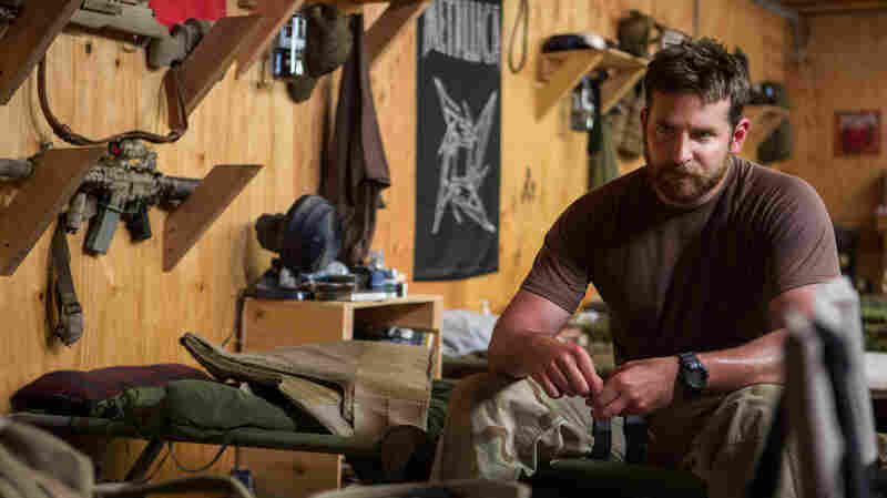 Bradley Cooper stars as Navy SEAL Chris Kyle in American Sniper.