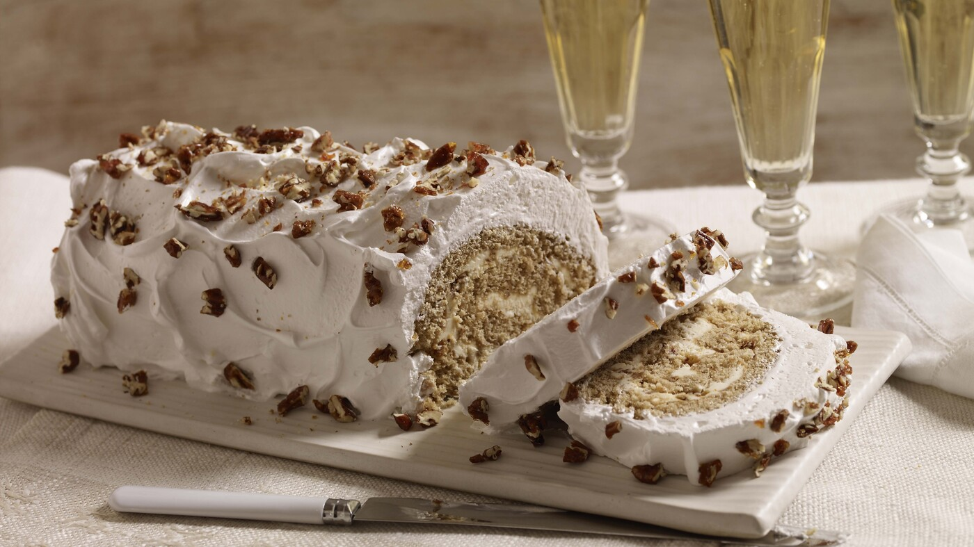 Yule Have To Try This Gingerbread Buche De Noel
