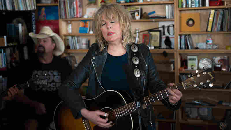 Tiny Desk Concert with Lucinda Williams on October 14, 2014.