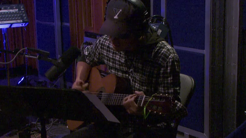 M. Ward performs live on KCRW.