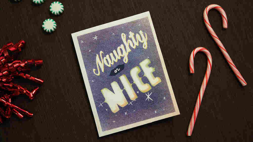 Listen: The Not-So-True Story Of Santa's Naughty-Or-Nice Division