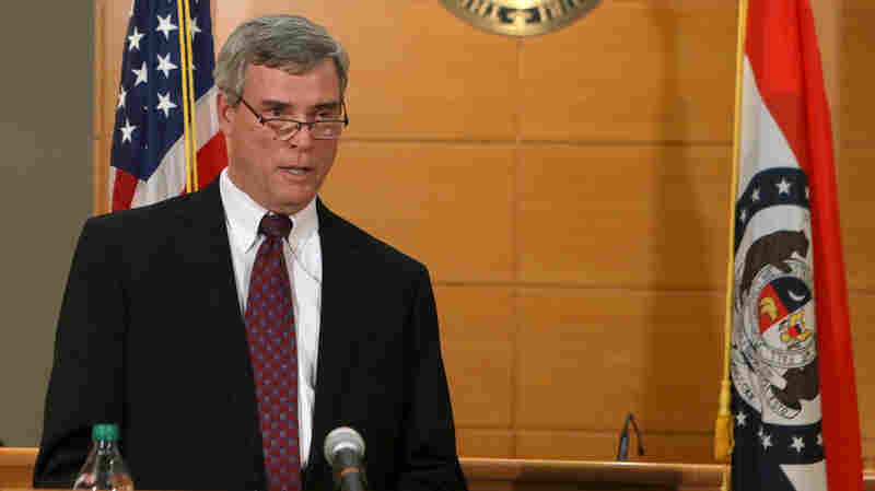 """I didn't want to fire things up,"" St. Louis County Prosecutor Robert McCulloch says of his silence since announcing the grand jury's decision not to indict Ferguson police officer Darren Wilson in the shooting death of Michael Brown."