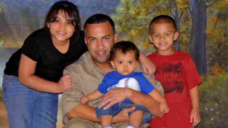David Padilla with his grandchildren. Seventeen years ago, a judge found Padilla guilty of conspiracy and possession with intent to distribute cocaine.