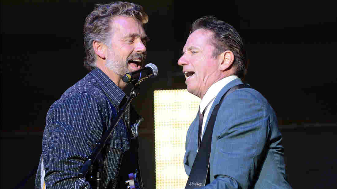 John Schneider (left) and Tom Wopat, who met as costars on The Dukes of Hazzard, say they bonded right away over a shared taste in music.