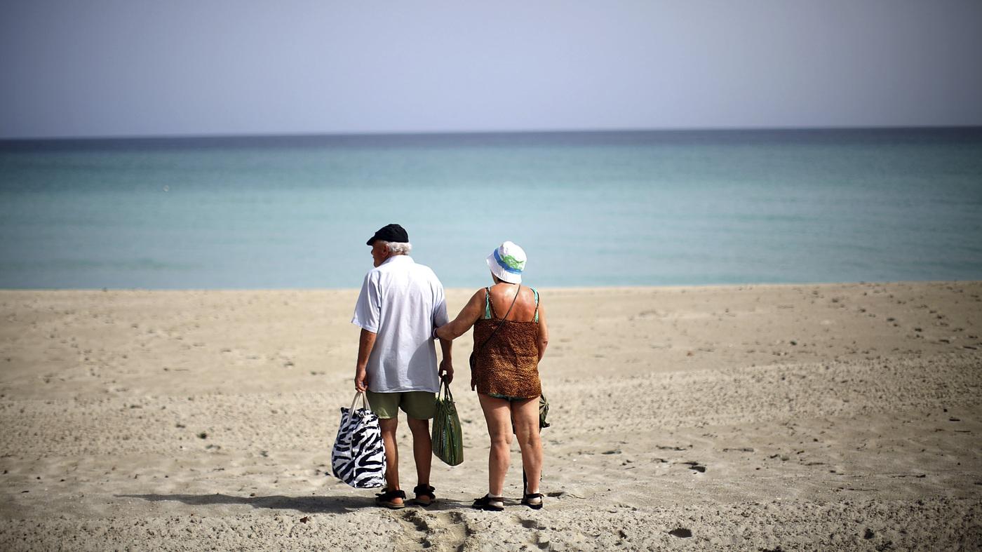 Ready To Hit The Cuban Beach Americans Still Have Wait NPR