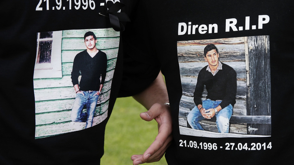 Diren Dede, a 17-year-old German exchange student, was fatally shot in the head and arm when he entered the garage of Markus Kaarma in Missoula, Mont., on April 27. Kaarma said it was self-defense, but a Montana jury recently found him guilty of deliberate homicide. (Oliver Hardt/Getty Images)