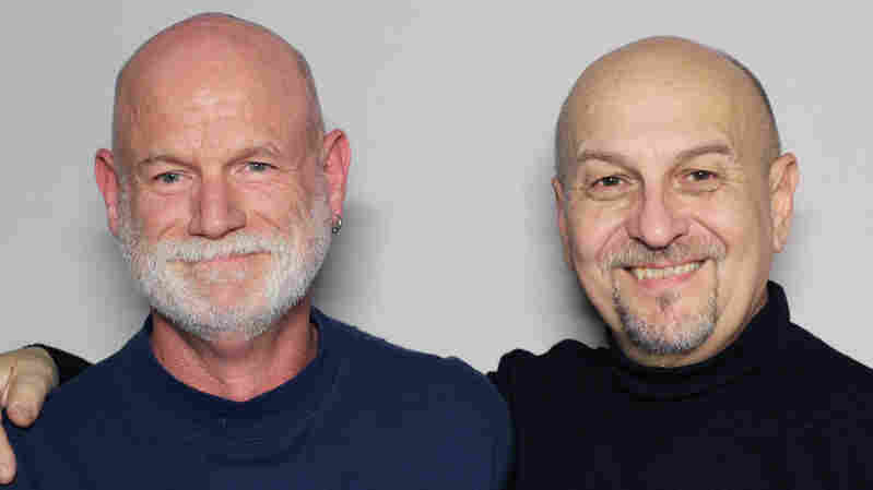 Doug Neville (left) and Ryan Johnson have been friends for three decades. They met shortly before Neville found out he was HIV-positive.